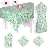 Smart Home Textile Self Design Cotton Kitchen Linen Set Multicolor, Pack Of 5 - KLSE8YSYYFYYDUGF