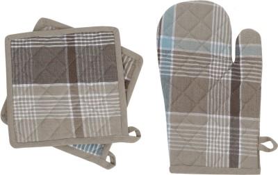 Iris Innovations Chefs Cotton Kitchen Linen Set Multicolor, Pack Of 3 - KLSE8623N6EEDYE6
