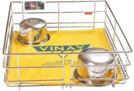 Vinay Plain Drawer Stainless Steel Kitchen Rack