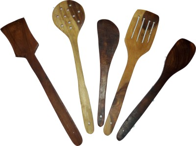 Delhis-Heart-w01-Beige,-Brown-Kitchen-Tool-Set