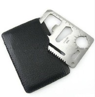 7Trees Credit Card Knife Camping Multi Tool (Silver)