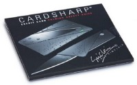 Card Sharp Card Knife Knife, Combat Knife, Campers Knife, Multi Tool, Knife Sheath, Survival Knife, Pocket Knife, Neck Knife, Fixed Blade Knife (Black)