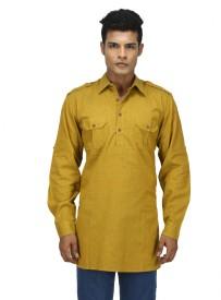 FabStyle Woven Men's Pathani Kurta
