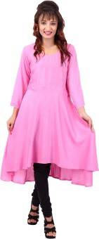 In-trend Solid Women's A-line Kurta - KTAE7S8FVQEX6GQW