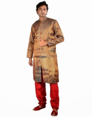 Samyakk Samyakk Solid Men's Kurta (Multicolor)