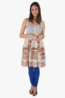 Akkriti By Pantaloons Printed Women's Flared Kurta