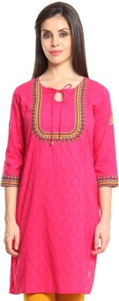Imara Self Design Women's A-line Kurta