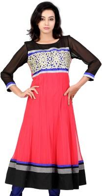Lifestyle Lifestyle Retail Self Design Women's Anarkali Kurta (Multicolor)