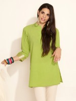 Radhas Daughters Solid Women's Kurta
