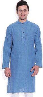 Royal Kurta Solid Men's Straight Kurta - KTAEFRMJX9W5HBN7