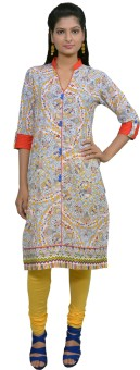 Chippa Prints Printed Women's Straight Kurta