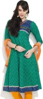 Victor Brown Printed Women's Anarkali Kurta