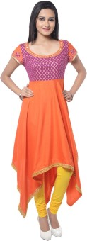 Good Things Solid Women's Anarkali Kurta - KTAE7MGCM57BUXPA