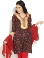 Teej Printed Women's Kurta