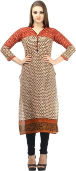Dee's By Dashmesh Printed Women's Straight Kurta - KTAE45UGWNMBCGNY