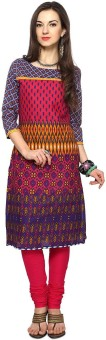 Rangmanch By Pantaloons Printed Women's Straight Kurta