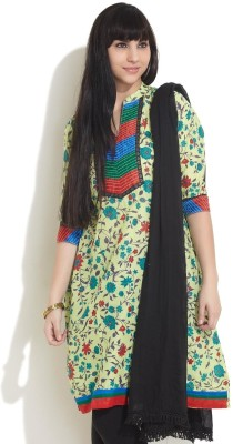 Shree Festive 3/4 Sleeve Floral Print Women
