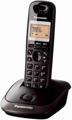 Panasonic PA-KX-TG2511 Cordless Landline Phone (Black)