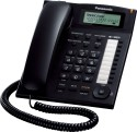 Panasonic KX-TS880MXBD Corded Landline Phone - Black