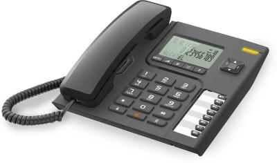 Alcatel T-76 Corded Landline Phone (Black)