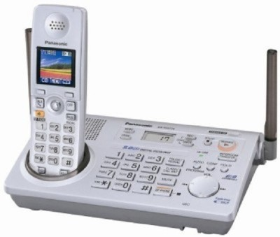 PANASONIC PA-KX-TG5766 Cordless Landline Phone (WHITE)
