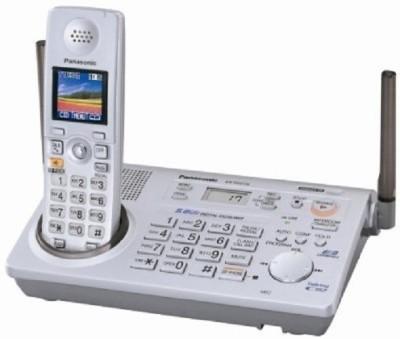 PANASONIC PA-KX-TG5766 Cordless Landline Phone (WHITE)