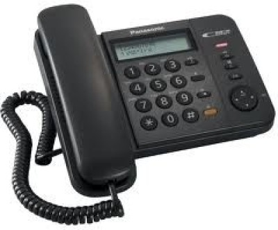 Panasonic KX-TS580MX Corded Landline Phone (Black)