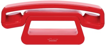 Swiss Voice Epure+ Cordless Landline Phone (Red)