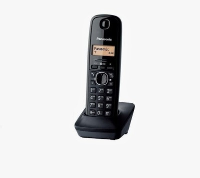 Panasonic PA-KX-TG1613 Cordless Landline Phone (Black)
