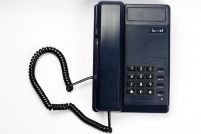 BEETEL C11 SCHEME Corded Landline Phone (Black)