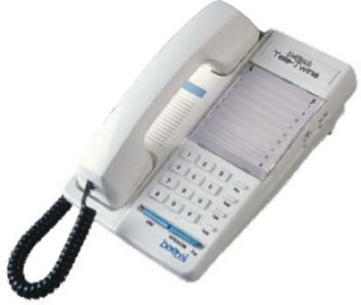 Beetel B77 Corded Landline Phone (White)