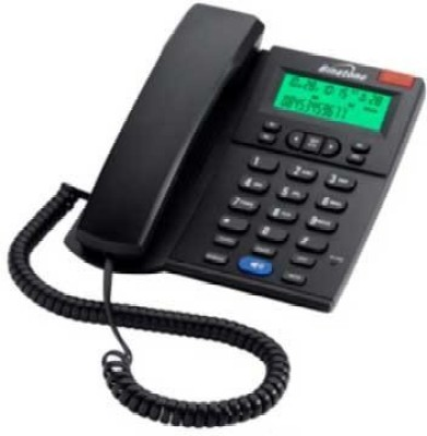 Binatone Concept 710 CLIP & Digital Speaker Corded Landline Phone (Black)