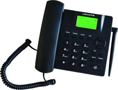 Lexstar GSM FIXED Cordless Landline Phone (Black)