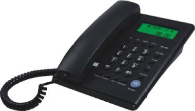 Beetel M53 Corded Landline Phone (Black)