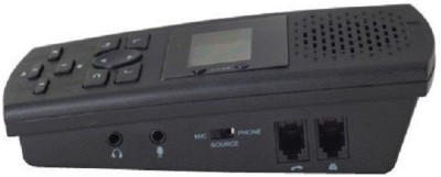 RTN INDIA Phone Recorder SVL01 Corded Landline Phone (Black, White)