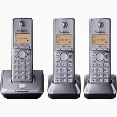 Panasonic PA-KX-TG2713 Cordless Landline Phone (Silver)