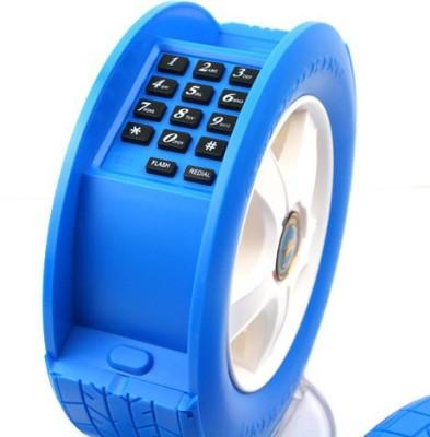 Tootpado Wheel Shape With LED Light - Telephone Corded Landline P...