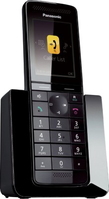 Panasonic KX-PRS110 Cordless Landline Phone (Black)