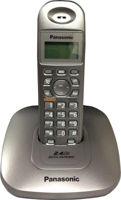 Panasonic KX-TG3611SXM Cordless Landline Phone (Grey)