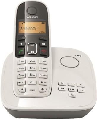 Gigaset A495 Cordless Landline Phone (White)