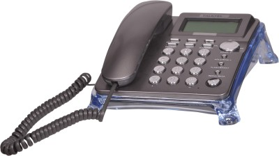 Talktel F-10 GR Corded Landline Phone (Grey)