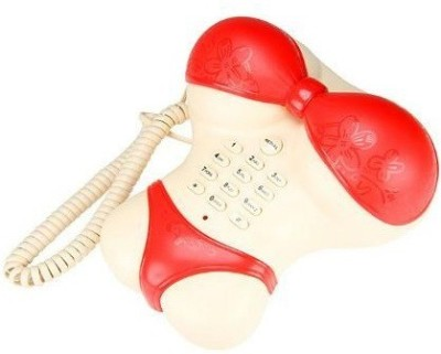 GeekGoodies Bikini Corded Landline Phone (Red)