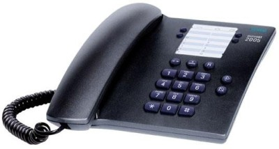 Euroset 2005 Corded Landline Phone (Black)
