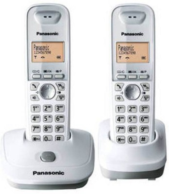 Panasonic KX-TG3552 Cordless Landline Phone (White)