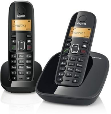 Gigaset A490DUO Cordless Cordless Landline Phone (Black)