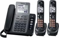 Panasonic PA-KX-TG9472 Corded & Cordless Landline Phone