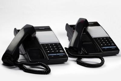 Beetel B77 Corded Landline Phone (Black)