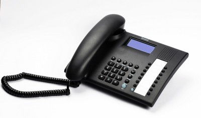 Beetel M90 Corded Landline Phone (Black)