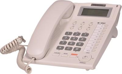 Talktel F-7 White Corded Landline Phone (White)