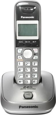 Panasonic New Panasonic KXTG 3551 Cordless Landline Phone (Metallic Grey) Cordless Landline Phone (Metallic grey)